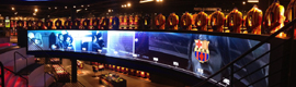 TMTFactory merges interactivity in screen and technology e -commerce in the megastore of the FCBarcelona