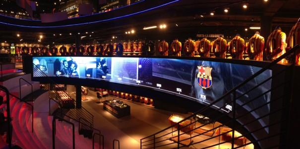 Leddream pantalla Megastore FCBarcelona