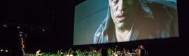 Los proyectores de Christie permiten revivir 'Matrix' con su banda sonora en vivo en el O2 World de Hamburgo