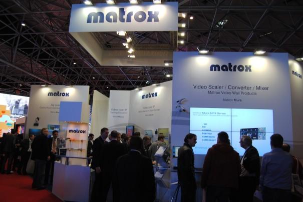 Matrox en ISE 2014