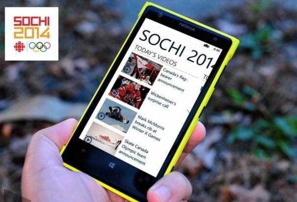 Microsof y NBC Juegos Olimpicos Sochi 2014