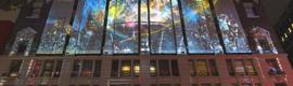 Moment Factory crea una gran proyección de videomapping como preámbulo a la Super Bowl XLVIII