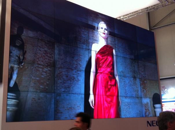 NEC en ISE 2014 videowall