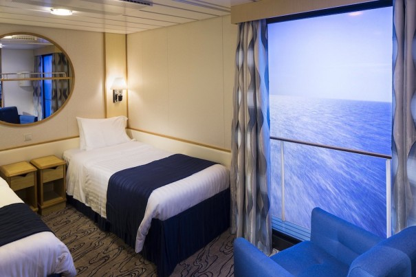 Royal Caribbean balcon virtual