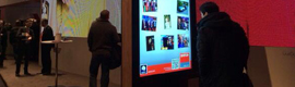 Boat in ISE 2014 bet: kiosk LCD for indoor and outdoor advertising