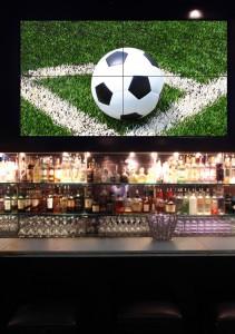Videowall Samsung Serie UD en el bar Slate de NY