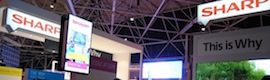 ISE 2014: Sharp and its partners show integrated digital signage solutions for vertical markets