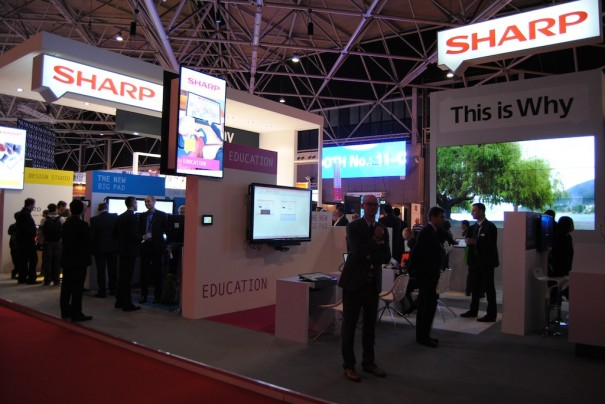 Scharf in ISE 2014