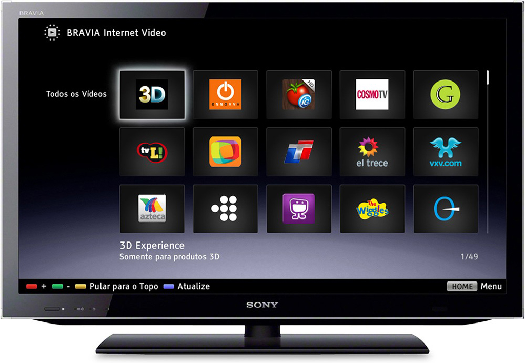 Samsung, LG and Sony are leading the market for smart TV