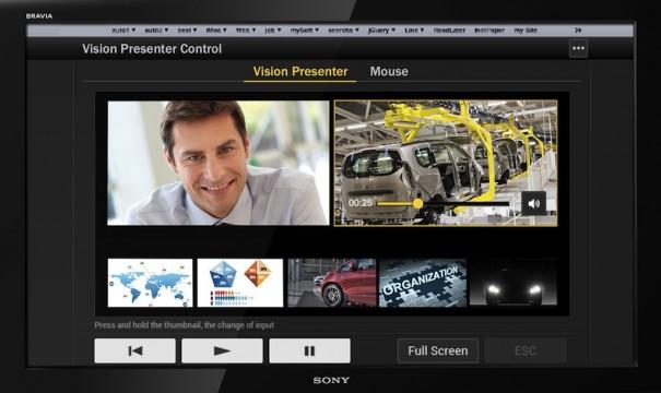 Sony Vision Presenter