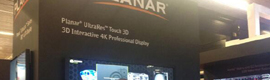 "Planar Launches in ISE 2014 UltraRes of 84 ""and the LCD Clarity Matrix video wall screen"