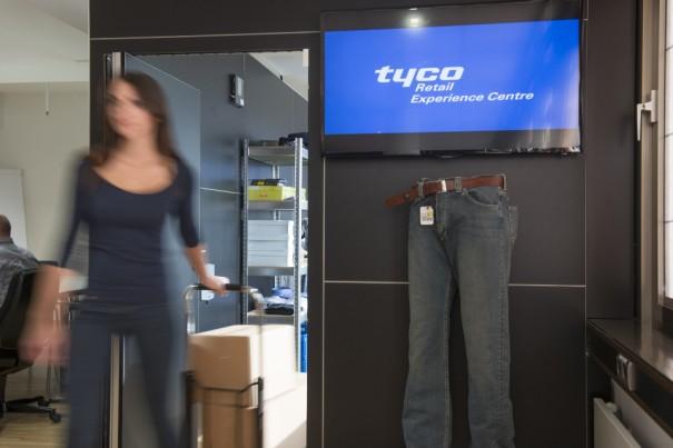 Sicurezza di Tyco Trec nella vendita al dettaglio