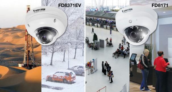 Vivotek FD8371EV y FD8171