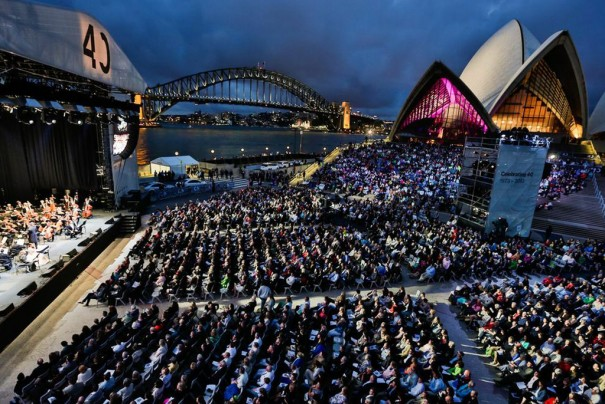 dB Sydney Opera House 40 aniversario