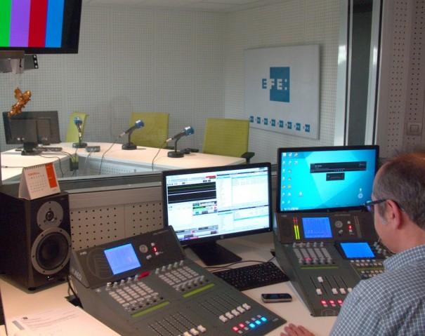 Agencia EFE estudio radio