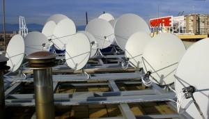 Agencia EFE plataforma senales satelite