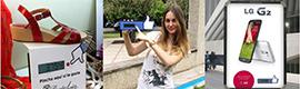 """Bluecell traslada el concepto 'Me gusta"""" de las redes sociales a los soportes de cartelería digital"""