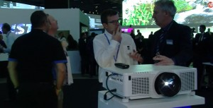 Christie at ISE 2014 projector series Q