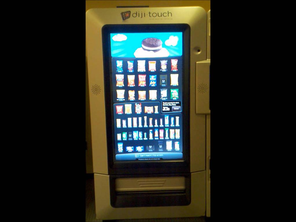 diji touch vending machine price