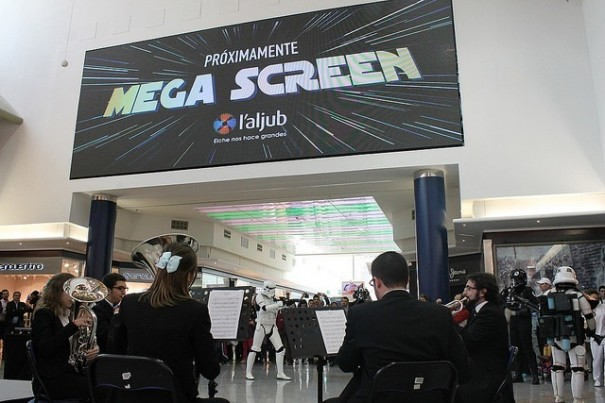Megascreen centro L-Aljub