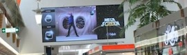 The L'ALJUB center in Elche installed LED screen interactive 'Megascreen', the largest in a large area in Spain