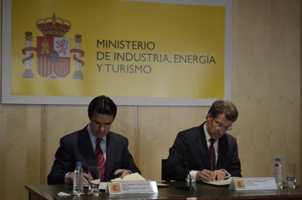 Ministerio Industria y Xunta Galicia convenio TIC