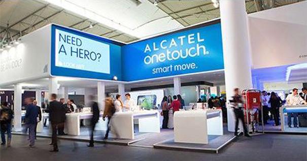Sono suministra AV stand Alcatel MWC 2014
