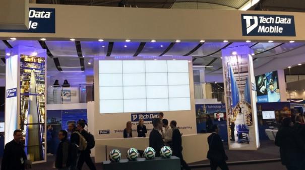 Sono suministra AV stand techdata MWC2014