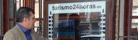 Las pantallas LED interactivas de Grupo Turismo24horas promocionan Salamanca y sus municipios