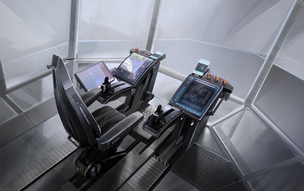 Vtt and rolls royce reveal and design a real technology for Futuristic control room