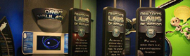 The digital signage interactivity gives Videotel screens Science Museum Oklahoma