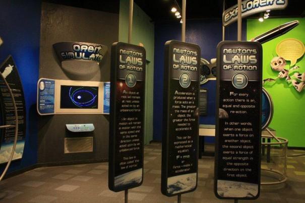 Videotel en el Museo de Ciencias de Oklahoma