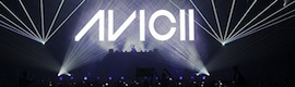 Avicii 'up' the audience in the show of his European tour with XL Video AV solutions