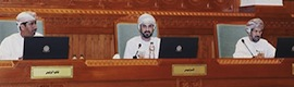 Retractable Arthur Holm monitors guarantee the institutional operative in the Parliament of Oman