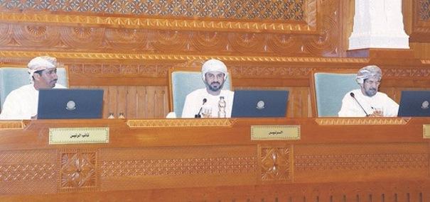 Arthur Holm Majlis Parlamento Oman