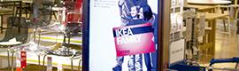 Ikea Suiza despliega una red de digital signage basada en SSP de Samsung y Scala