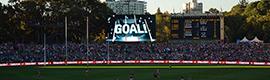 Daktronics proporciona los sistemas visuales para el recién renovado estadio Adelaide Oval de Australia