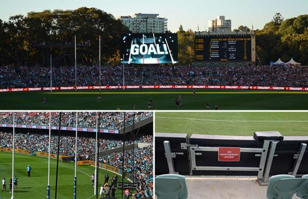 Daktronics en Adelaide Oval