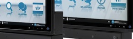 Diode marketed in Spain CC500 interactive kiosks for retail and hotels