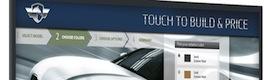Planar UltraRes Touch incorpora la tecnología de vidrio óptico ERO con Corning Gorilla Glass