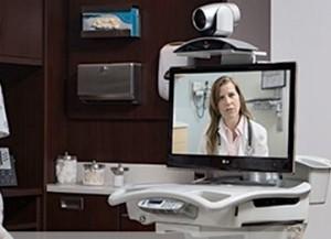 Polycom videoconferencia hospital