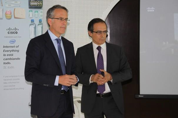 J.M.Petisco de Cisco y J. Lang de Intel