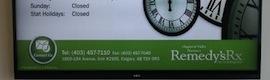 Las farmacias canadienses Remedy's prescriben la tecnología de digital signage para mejorar su comunicación