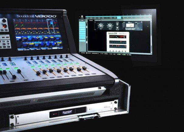 Soundcraft Rack de tempo Real com VI3000