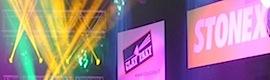 Stonex crea un escaparate de luz y sonido con los nuevos Clay Paky combinados con grandMA2