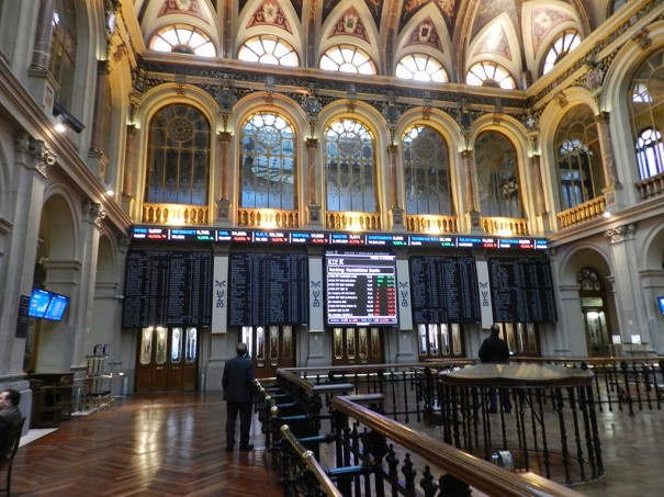 Wavetec Ticker pantalla LED Bolsa de Madrid