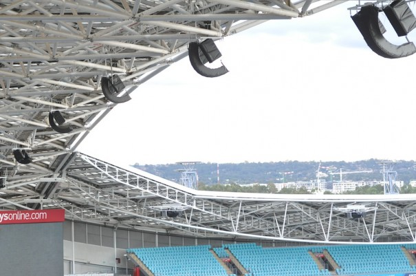 DB audio ANZ Stadium