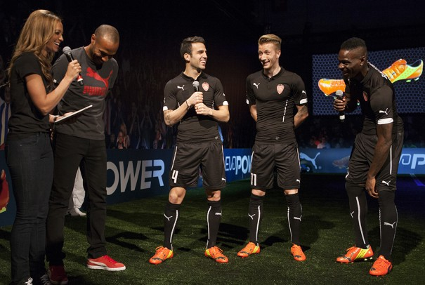Balotelli, Fabregas y Reus Puma evoPower