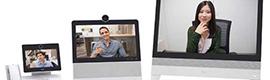 Cisco sigue apostando por la colaboración con dos dispositivos de escritorio y uno alojado en la nube