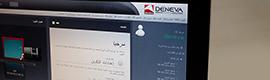 Icon Multimedia traduce al árabe su solución de digital signage Deneva